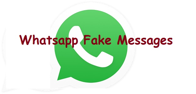 Whatsapp Fake messages