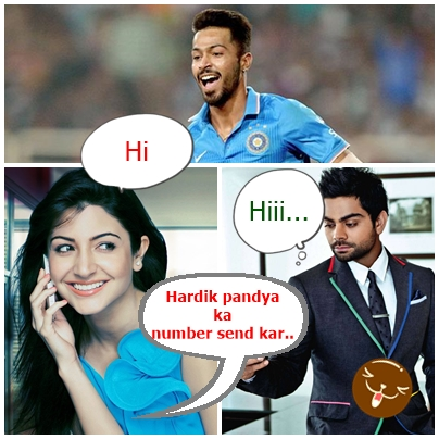 Dhoni Hardik Pandya Anushka whatsapp messages