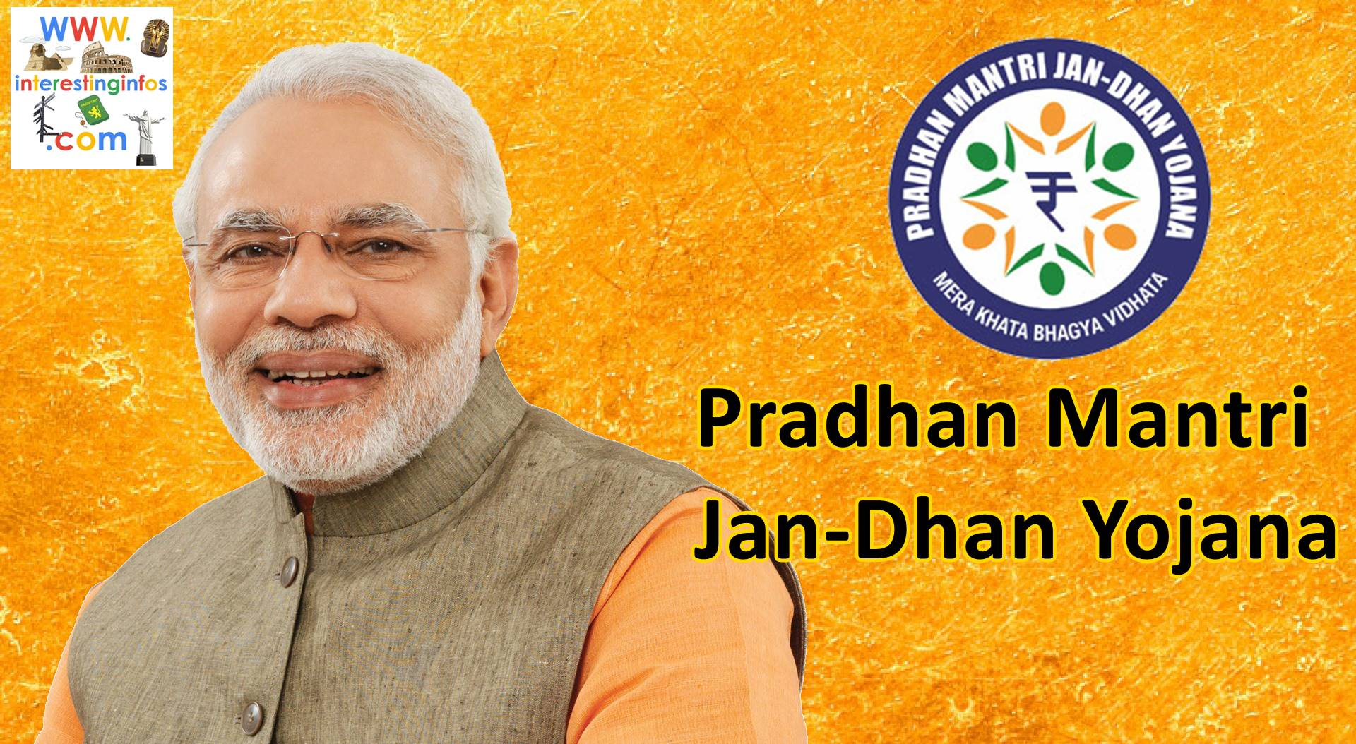 Narendra modi Pradhan mantri Jan dhan yojana