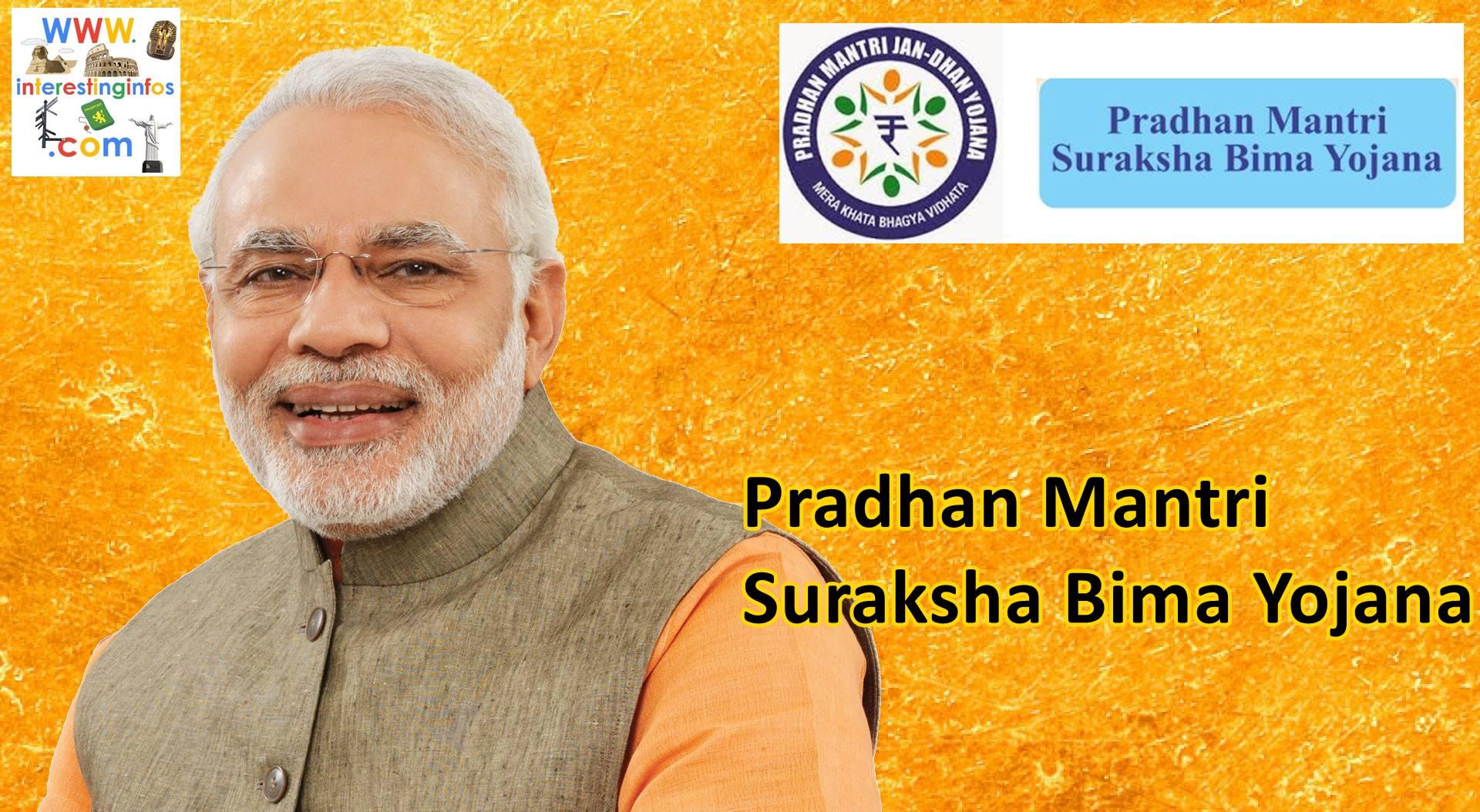 Narendra modi pradhan mantri Suraksha Bima yojana