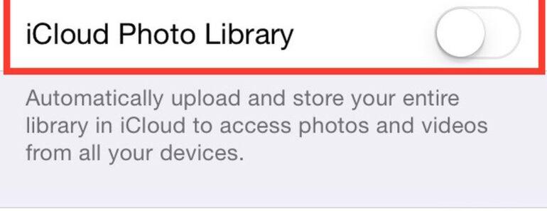 icloud photo upload stuck at 1 percent