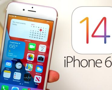 iphone 6s plus 16gb ios 14 update